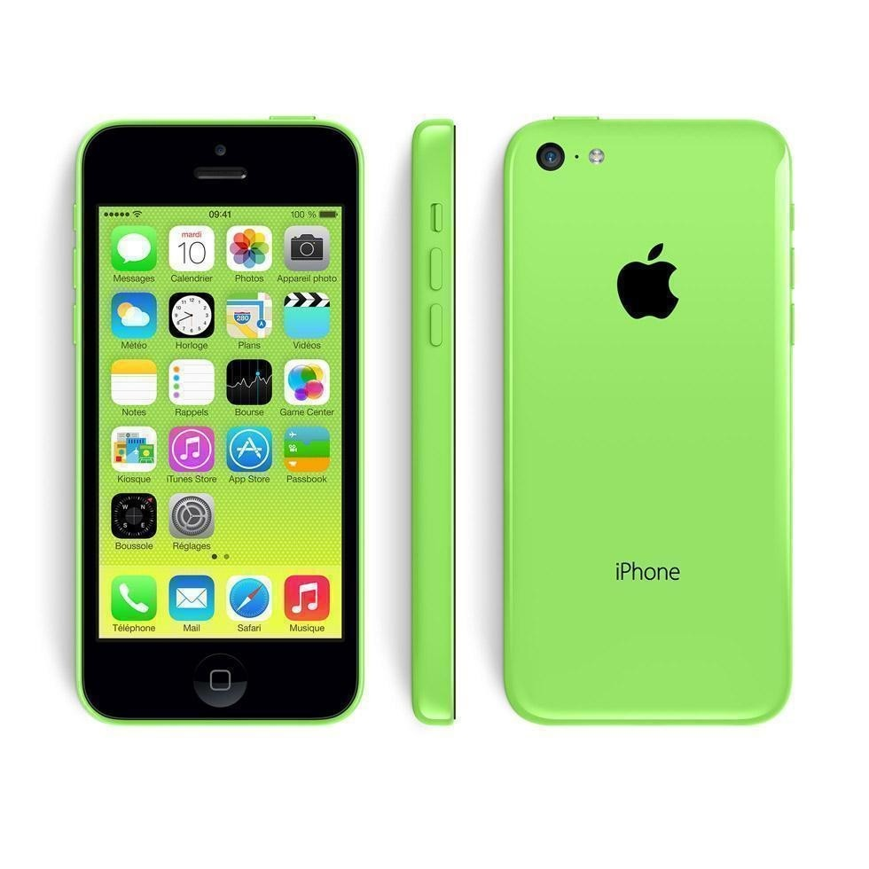 apple iPhone 5C - 8GB - Green - B+ Grade