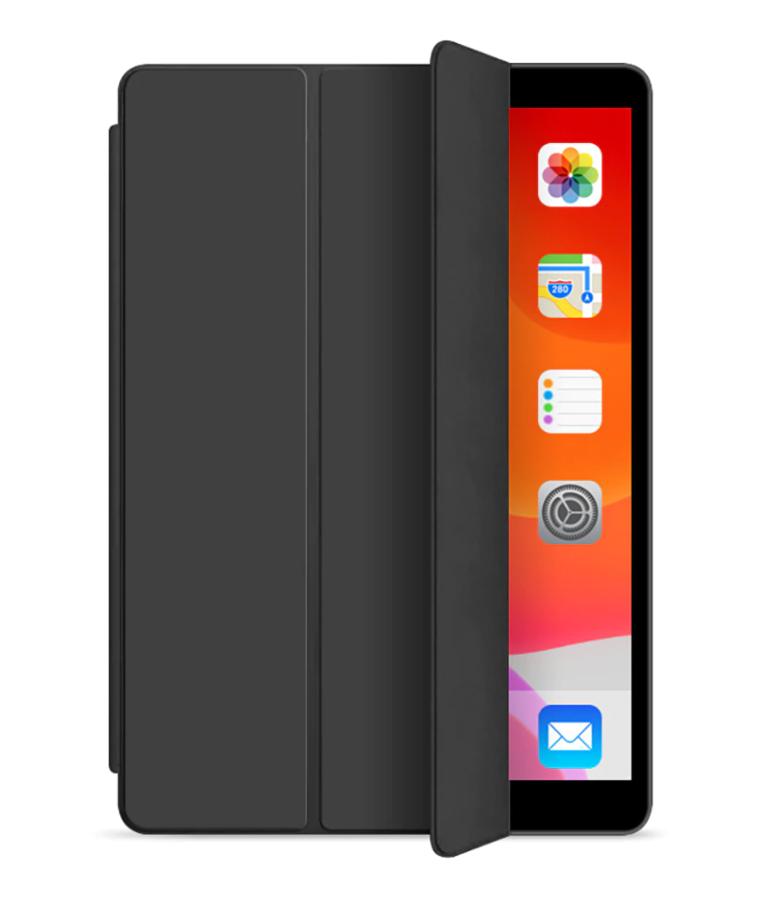 Tri-Fold Book Leder Case iPad Air - Zwart
