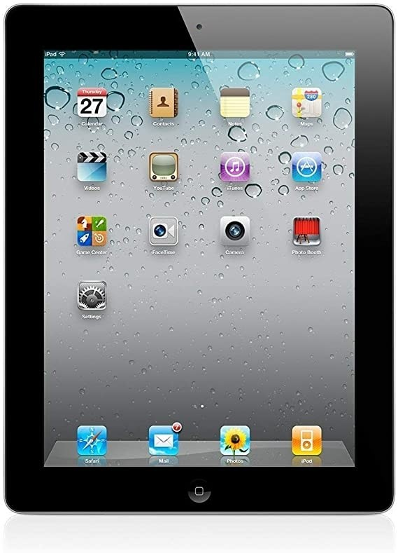 Apple iPad 2 - 16GB - Black - B+ Grade
