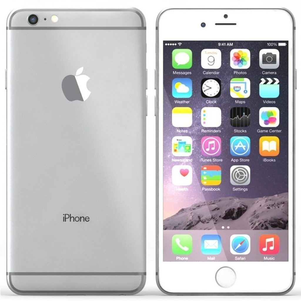 Apple iPhone 6 - 16GB - White Silver - (Als Nieuw) A+ Grade Tweedehands