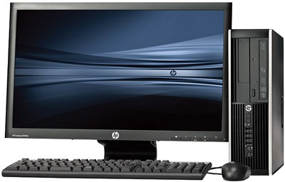 HP Elite 8200 SFF intel G840 + 23'' Widescreen LCD