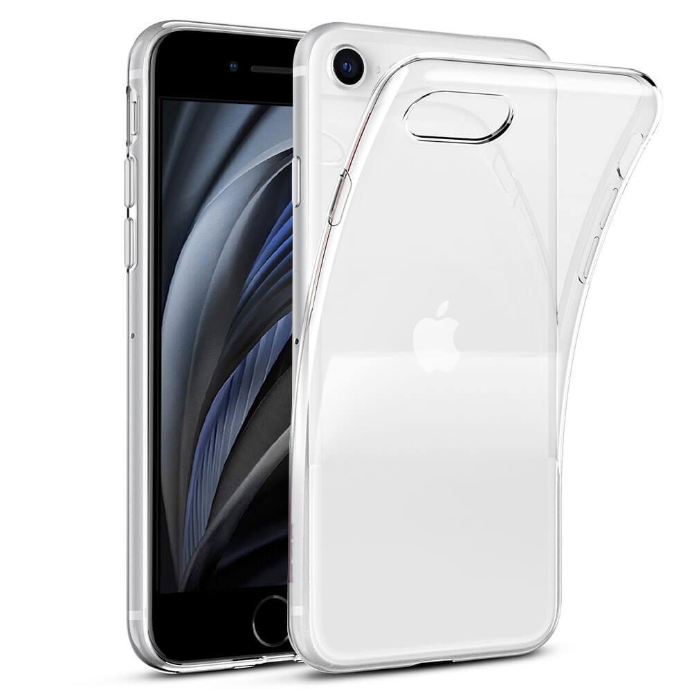 iPhone 8 Transparant siliconenhoesje / Siliconen Gel TPU