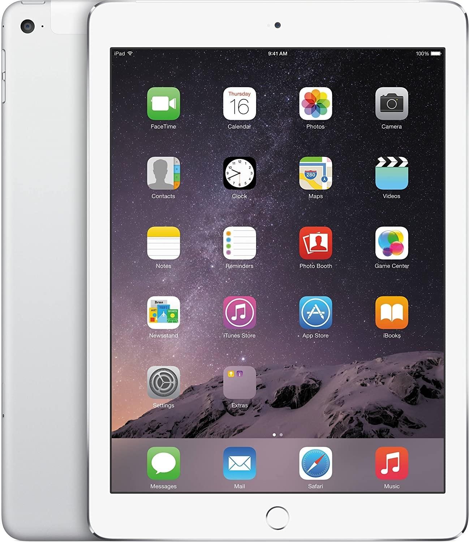 Apple iPad Air 2 - 64GB - 4G - White Silver - (Retina Display) - B+ Grade Tweedehands