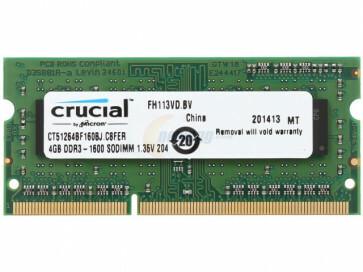 4GB DDR3 SO-DIMM 1600Mhz DDR3L
