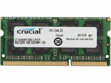 8GB DDR3 SO-DIMM 1600Mhz