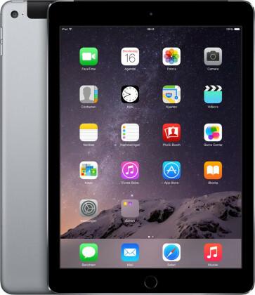 Apple iPad Air 2 - 16GB - 4G - Space Grey - (Retina Display) - B+ Grade