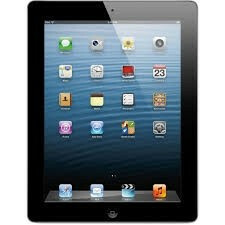 Apple iPad 4 - 16GB - Black - (Retina Display) - A Grade