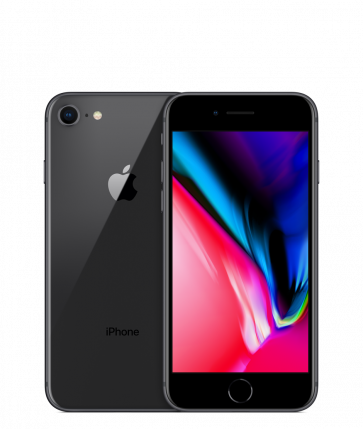 Apple iPhone 8 - 64GB - Space Grey - B+ Grade