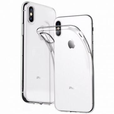 iPhone XS Max Transparant siliconenhoesje / Siliconen Gel TPU