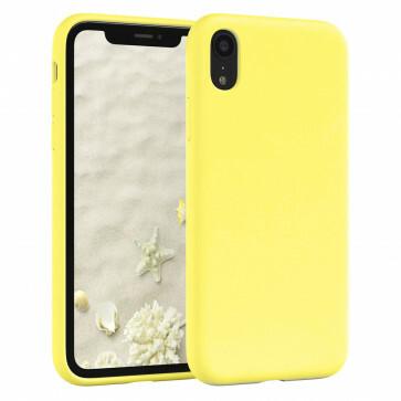 iPhone X/XS Geel siliconenhoesje / Siliconen Gel TPU