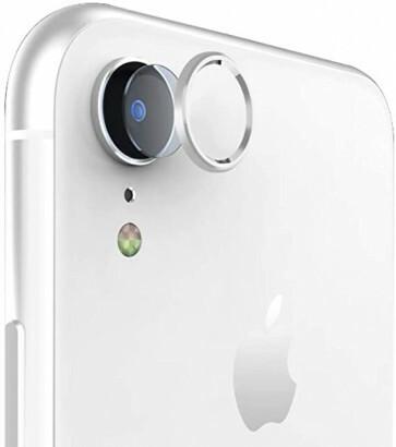 iPhone XR Glazen Camera Cover - Zilver