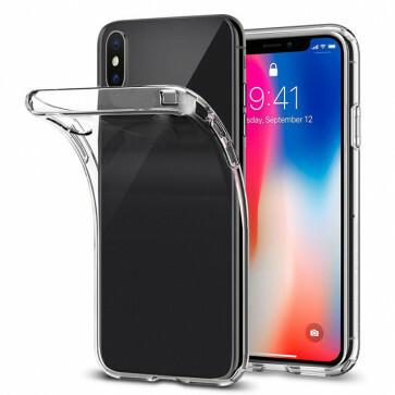 iPhone X/XS Transparant siliconenhoesje / Siliconen Gel TPU