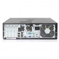 HP Elite 8200 SFF - Intel Core i5 - 4GB - 320GB HDD + Dual 2x 24'' Widescreen LCD