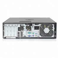HP Elite 8200 SFF - Intel Core i7 - 4GB - 500GB HDD + Dual 2x 24'' Widescreen LCD