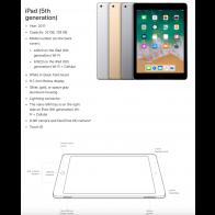 Apple iPad 5 (2017) - 128GB - Space Grey - (Als Nieuw) A+ Grade