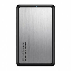 USB 3.1 SSD\HDD Harde Schijf Behuizing - Silver (Nieuw in doos)