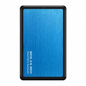 USB 3.1 SSD\HDD Harde Schijf Behuizing - Blauw (Nieuw in doos)