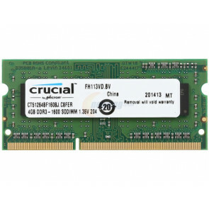 4GB SO-DIMM 1600Mhz DDR3L