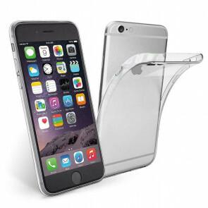 iPhone 6/6S Transparant siliconenhoesje / Siliconen Gel TPU