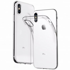 iPhone XS Max Transparant siliconenhoesje / Siliconen Gel TPU