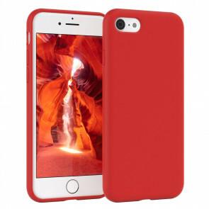 iPhone 6/6S Rood siliconenhoesje / Siliconen Gel TPU
