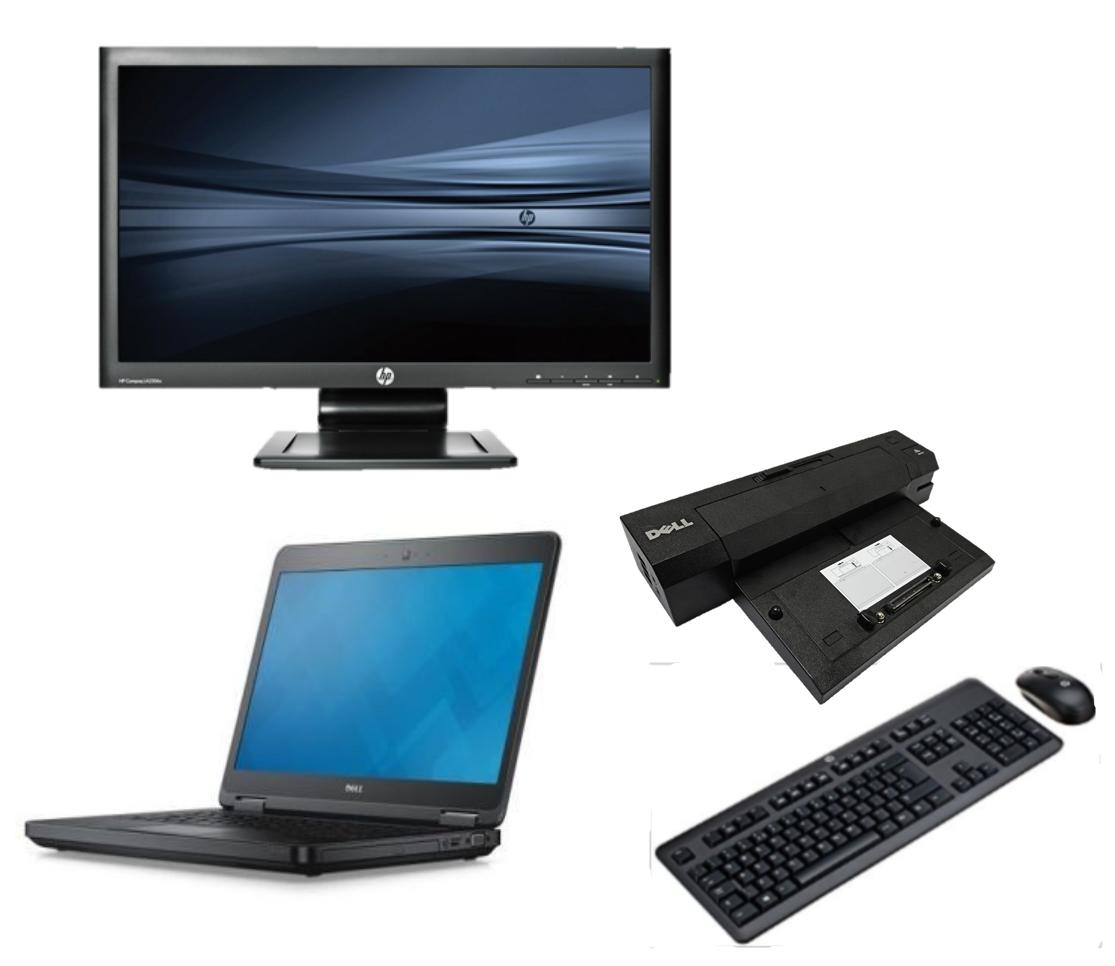 Dell Latitude E5450 intel i5 + Docking + 24'' Widescreen Monitor