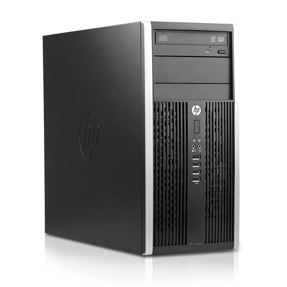 HP Pro 6200 Tower Core i7 2600 8GB 500GB SSD 500GB HDD DVD RW HDMI
