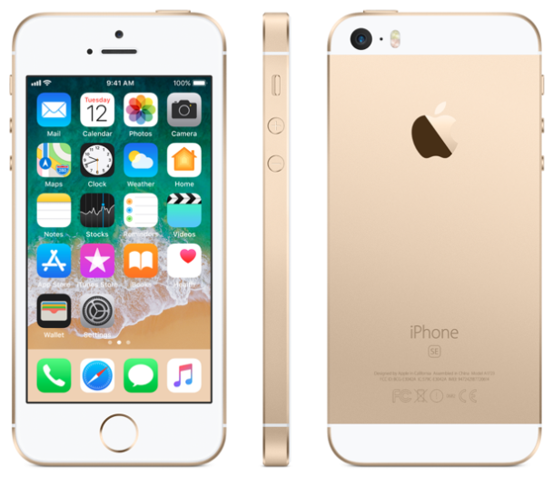 Apple iPhone SE - 32GB - Gold - A Grade