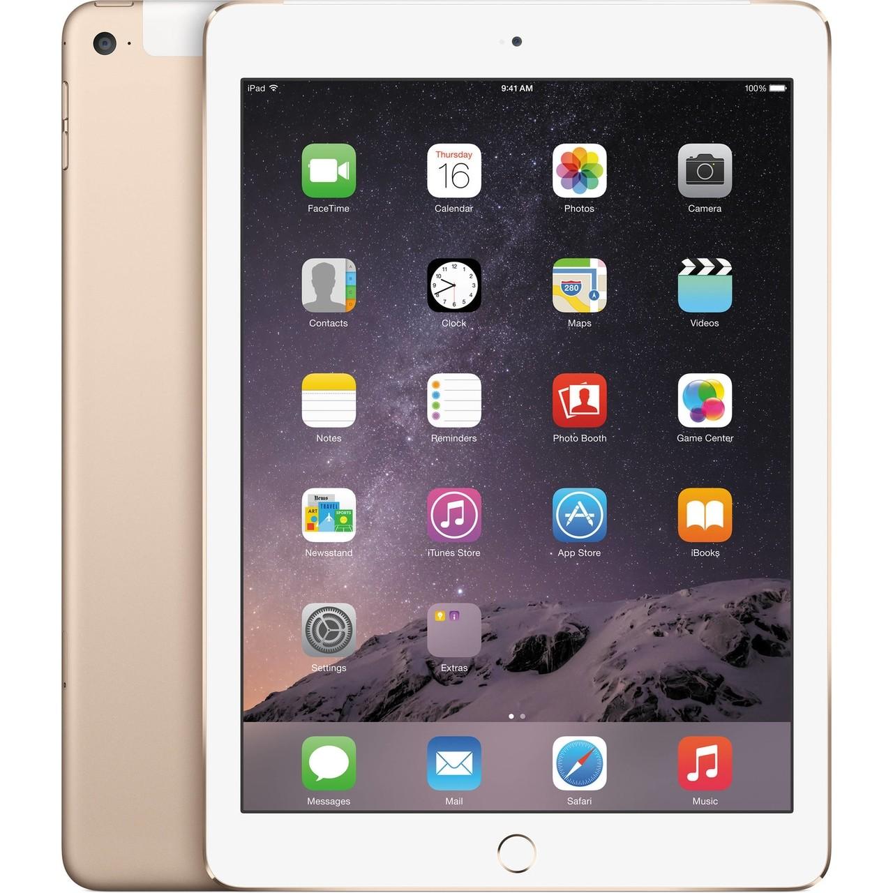 Apple iPad Air 2 - 64GB - 4G - Gold - Retina Display - A+ Grade (Als Nieuw) Tweedehands