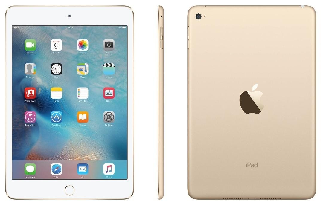 Apple iPad Mini 4 - 16GB - Gold - A+ Grade
