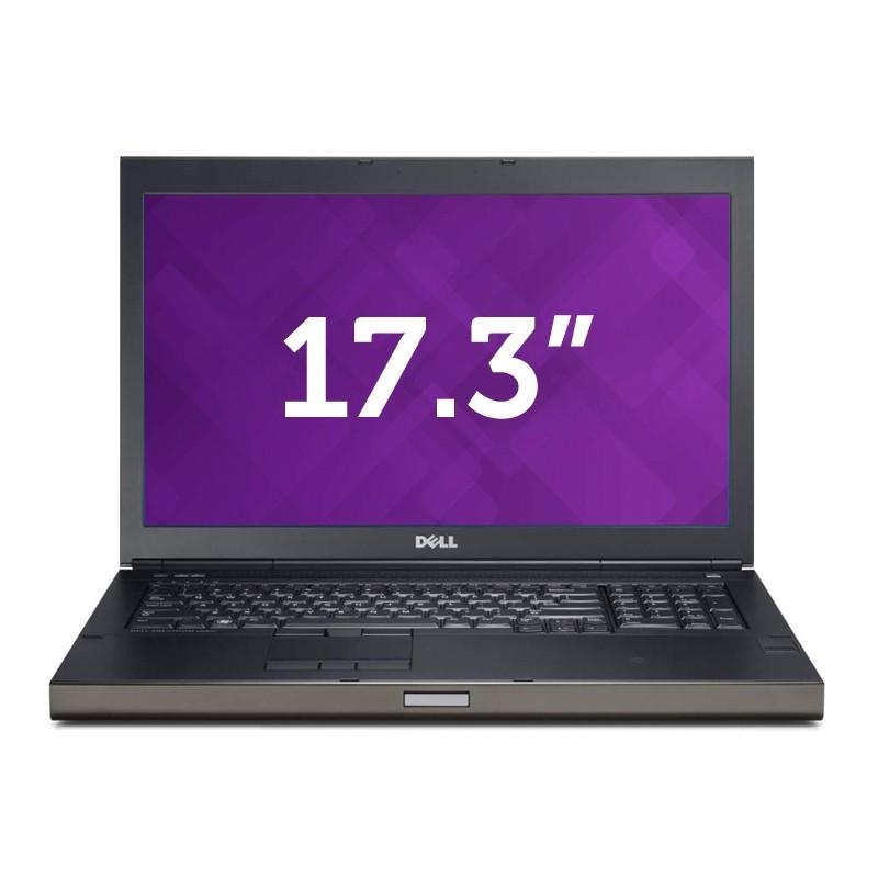 Dell Precision m6800 - Intel Core i5 4200m - 8GB - 512GB SSD + 320GB HDD - HDMI - 1920x1080 FULL HD 17,3''