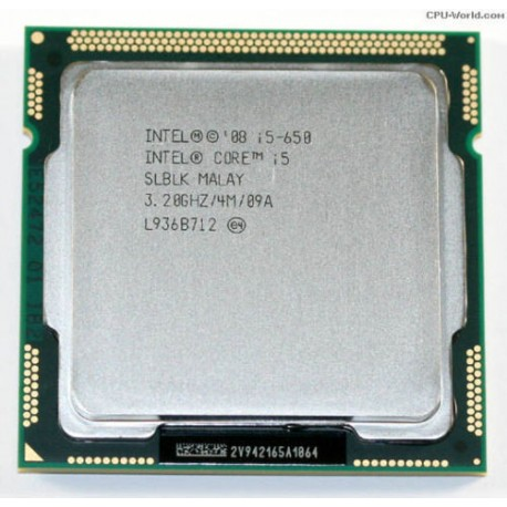 Intel Core i5-650 Socket 1156