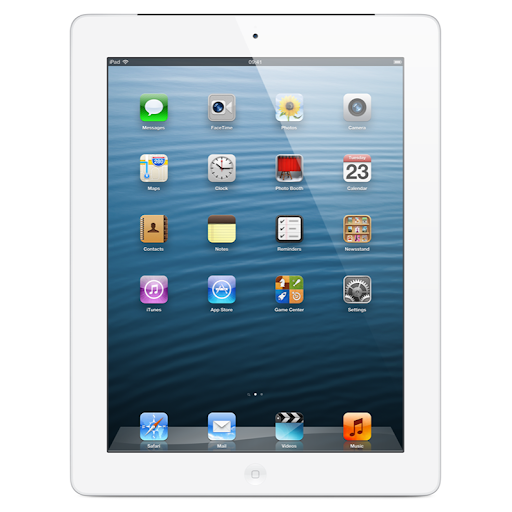 Apple iPad 4 - 16GB - White - (Retina Display) - A Grade Tweedehands