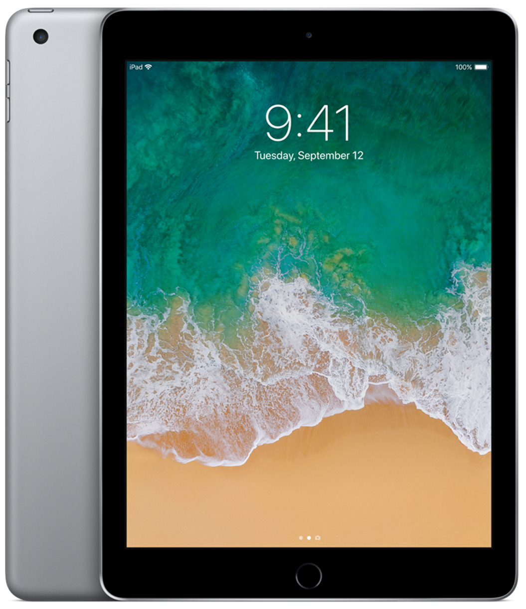 Apple iPad 5 (2017) - 128GB - Space Grey - A Grade Tweedehands