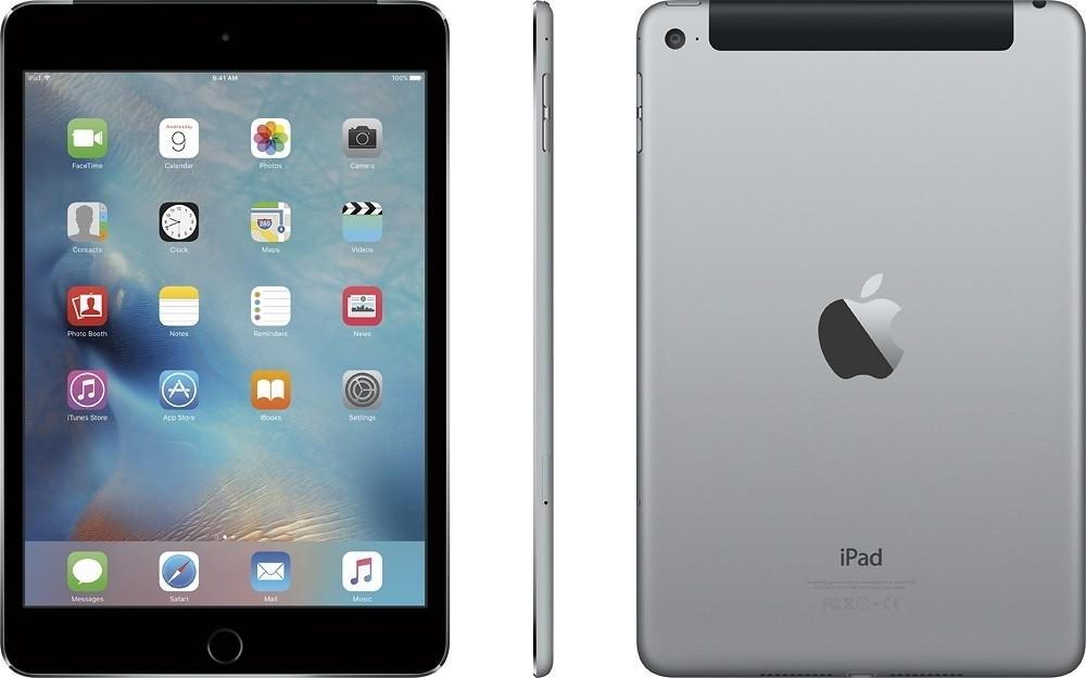 Apple iPad Mini 4 - 128GB - 4G - Space Grey - B+ Grade Tweedehands