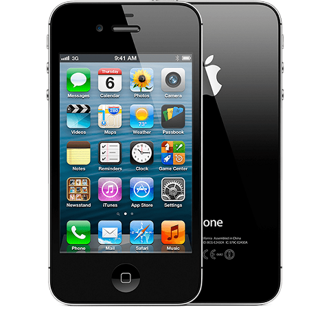 Apple iPhone 4s - 16GB - Black - B+ Grade