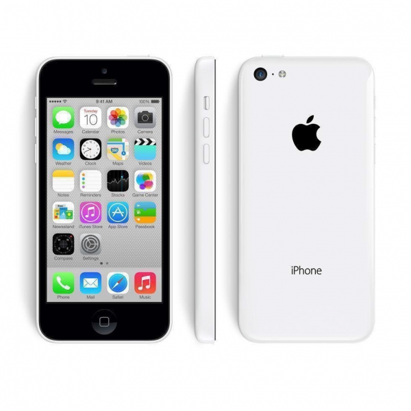 apple iPhone 5C - 16GB - White - B+ Grade
