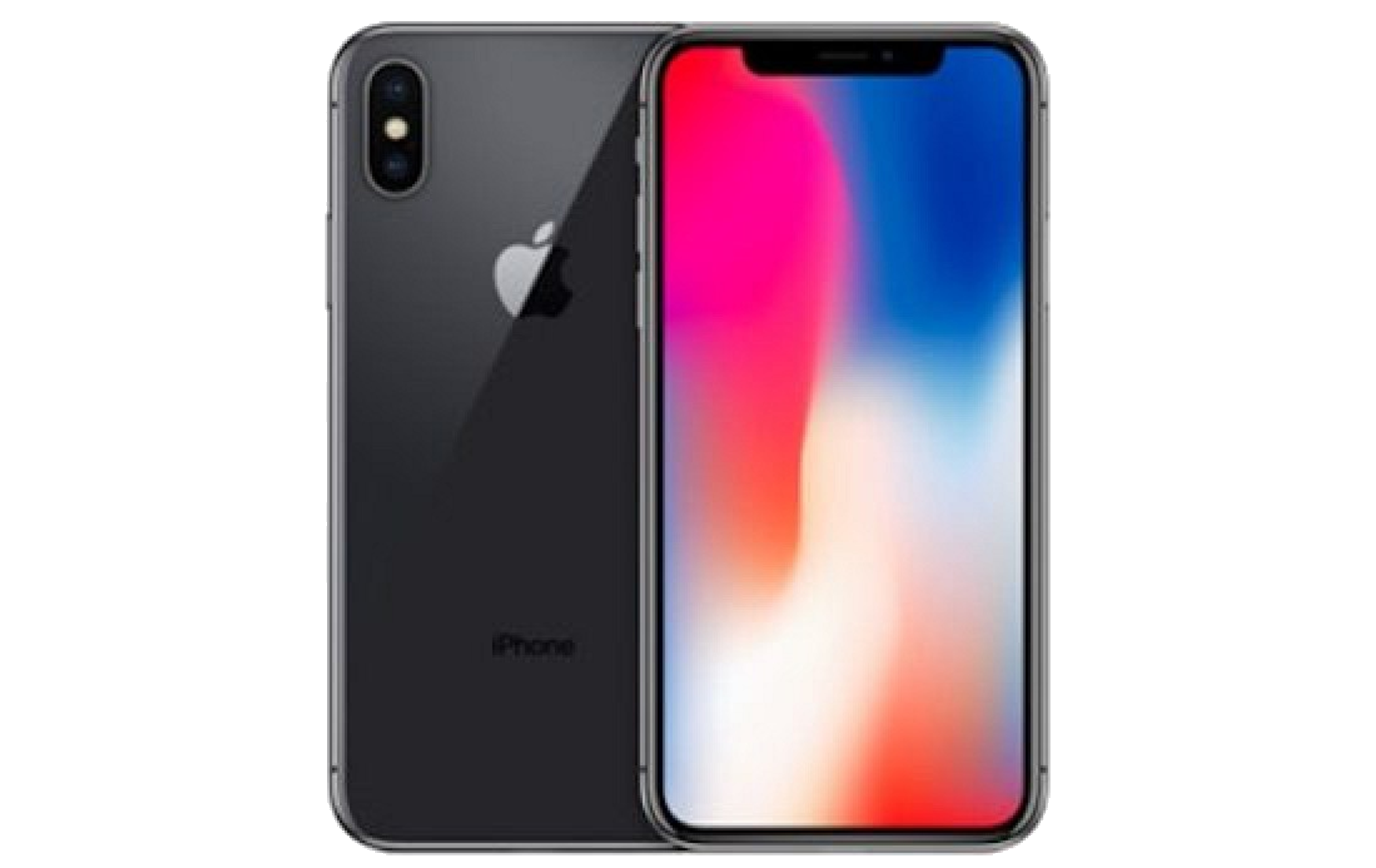 Apple iPhone X - 64GB - Space Grey - B+ Grade