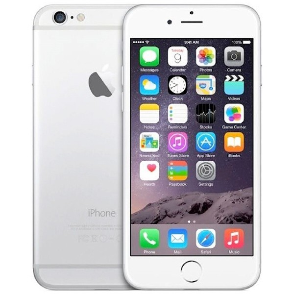 Apple iPhone 6s - 128GB - White Silver - A Grade