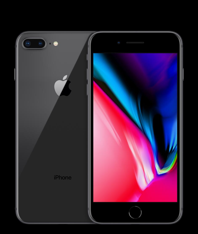 Apple iPhone 8 Plus - 64GB - Space Grey - A+ Grade - Zo goed als nieuw Tweedehands