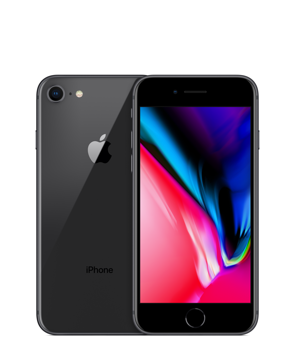 Apple iPhone 8 - 64GB - Space Grey - B+ Grade