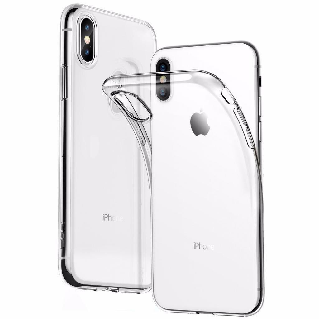 iPhone XS Transparant siliconenhoesje / Siliconen Gel TPU
