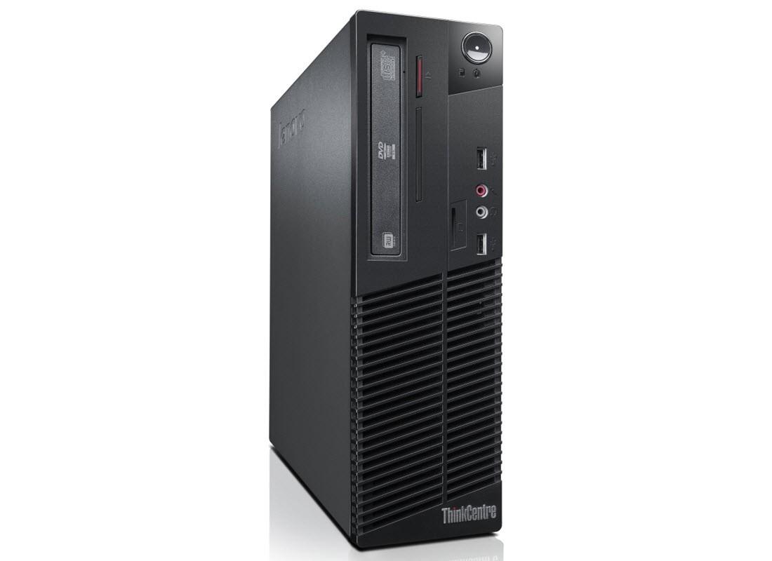 Lenovo ThinkCentre M82 SFF - Core i3-3220 - 4GB - 120GB SSD + 320GB HDD - HDMI