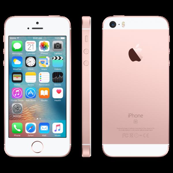 Apple iPhone SE - 32GB - Rose Gold - A Grade
