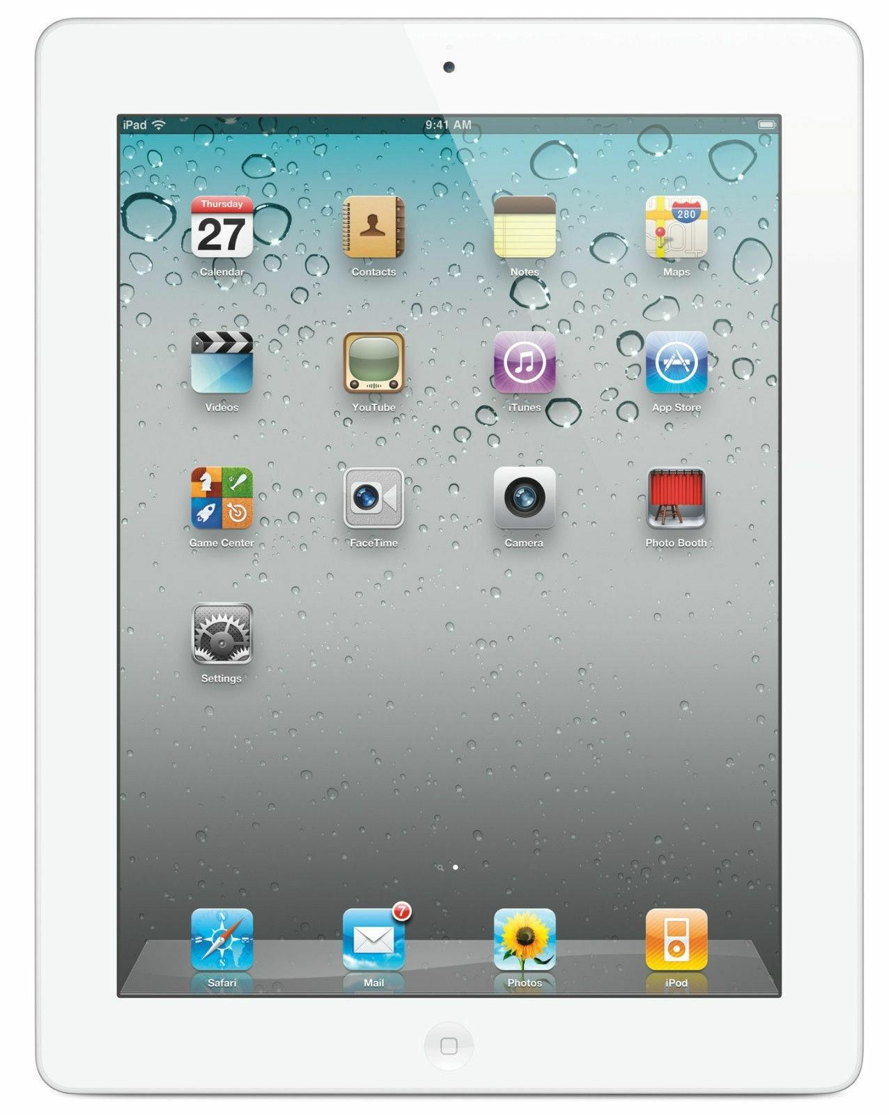 Apple iPad 2 - 16GB - White - A Grade