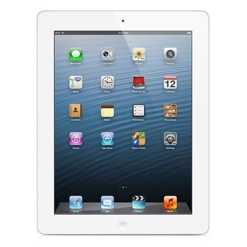 Apple iPad 4 - 16GB - 4G - White - (Retina Display) - A Grade Tweedehands