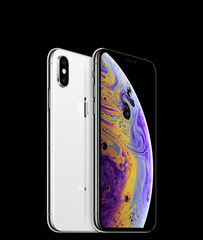 Apple iPhone XS - 64GB - Silver - B+ Grade