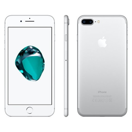 Apple iPhone 7 Plus - 128GB - White Silver - B+ Grade