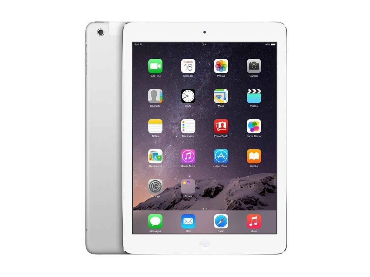 Apple iPad Air 2 - 64GB - 4G - White Silver - (Retina Display) - B Grade
