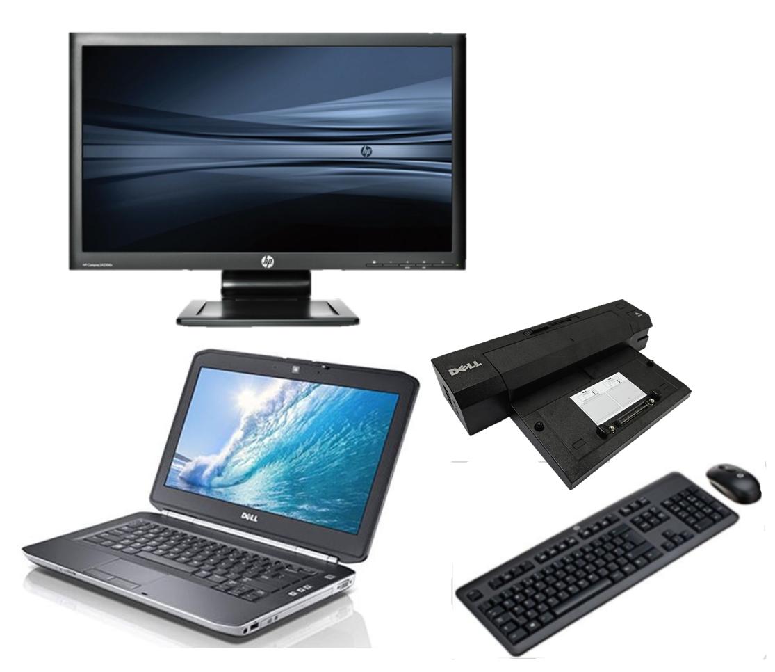 Dell Latitude E5430 intel i5 + Docking + 24'' Widescreen Monitor